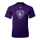 Under Armour Purple Tech Tee-Soccer Shield