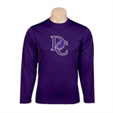 Syntrel Performance Purple Longsleeve Shirt-DC Football