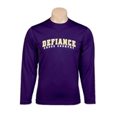 Syntrel Performance Purple Longsleeve Shirt-Cross Country