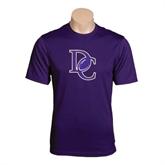 Syntrel Performance Purple Tee-DC Football