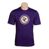Syntrel Performance Purple Tee-Defiance College Baseball