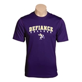 Syntrel Performance Purple Tee-Arched Defiance College