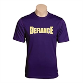 Syntrel Performance Purple Tee-Defiance Distressed