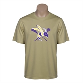 Syntrel Performance Vegas Gold Tee-DC Crossed Lacrosse Sticks