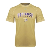 Under Armour Vegas Gold Tech Tee-Arched Defiance College