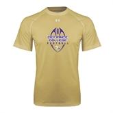 Under Armour Vegas Gold Tech Tee-Tall Football Design