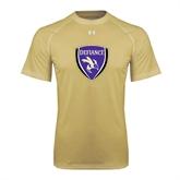 Under Armour Vegas Gold Tech Tee-Soccer Shield
