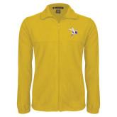 Fleece Full Zip Gold Jacket-Yellow Jacket