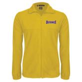 Fleece Full Zip Gold Jacket-Defiance