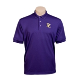 Purple Dry Mesh Polo-Interlocking DC