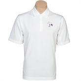 Nike Golf Tech Dri Fit White Polo-Yellow Jacket