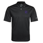 Nike Dri Fit Black Pebble Texture Sport Shirt-Interlocking DC