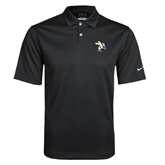 Nike Dri Fit Black Pebble Texture Sport Shirt-Yellow Jacket
