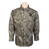 Camo Long Sleeve Performance Fishing Shirt-Interlocking DC