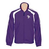 Colorblock Purple/White Wind Jacket-Yellow Jacket