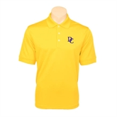 Gold Dry Mesh Polo-Interlocking DC