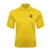 Gold Dri Mesh Pro Polo-Interlocking DC