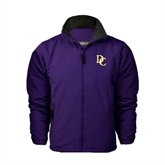 Purple Survivor Jacket-Interlocking DC