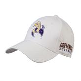 White Heavyweight Twill Pro Style Hat-Yellow Jacket