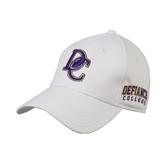 White Heavyweight Twill Pro Style Hat-DC Football