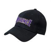 Black Heavyweight Twill Pro Style Hat-Defiance