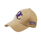 Vegas Gold Twill Unstructured Low Profile Hat-Interlocking DC