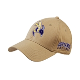 Vegas Gold Twill Unstructured Low Profile Hat-Yellow Jacket
