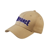 Vegas Gold Twill Unstructured Low Profile Hat-Defiance