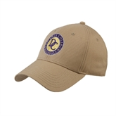 Vegas Gold Heavyweight Twill Pro Style Hat-Defiance College Baseball