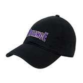 Black Twill Unstructured Low Profile Hat-Defiance