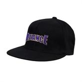 Black OttoFlex Flat Bill Pro Style Hat-Defiance