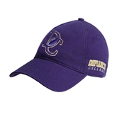 Purple Twill Unstructured Low Profile Hat-DC Football
