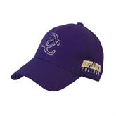 Purple Heavyweight Twill Pro Style Hat-DC Football