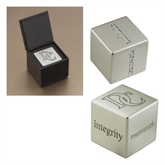 Icon Inspiration Cube-Interlocking DC Engraving