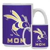 Mom Full Color White Mug 15oz-Yellow Jacket