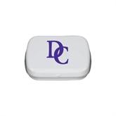 White Rectangular Peppermint Tin-Interlocking DC