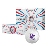 Callaway Supersoft Golf Balls 12/pkg-Interlocking DC