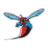 Medium Decal-Hornet, 8 inches wide