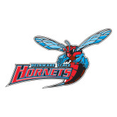 Large Decal-Delaware State Hornets w/Hornet, 12 inches wide