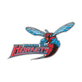 Small Decal-Delaware State Hornets w/Hornet, 6 inches wide