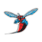 Small Decal-Hornet, 6 inches wide