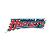 Small Decal-Delaware State Hornets, 6 inches wide