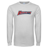 White Long Sleeve T Shirt-Hornets