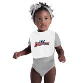 White Baby Bib-Lil Hornets