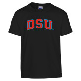 Youth Black T Shirt-Arched DSU