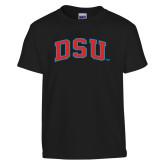 Youth Black T Shirt-Arched DSU