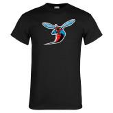 Black T Shirt-Hornet