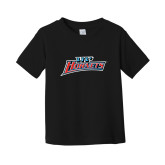 Toddler Black T Shirt-Lil Hornets