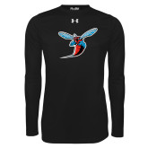 Under Armour Black Long Sleeve Tech Tee-Hornet