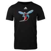 Adidas Black Logo T Shirt-Hornet